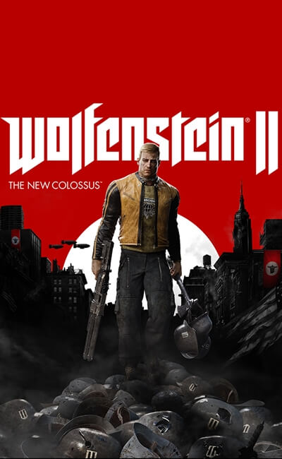 Wolfenstein II The New Colossus (2017)