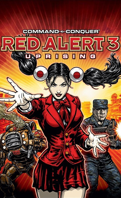 Command & Conquer Red Alert 3 Uprising (2009)